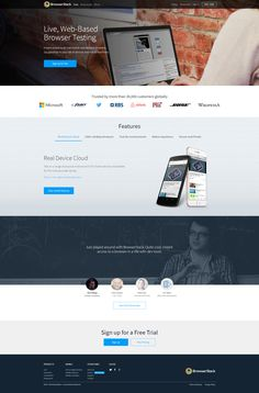 BrowserStack • Flat Inspire