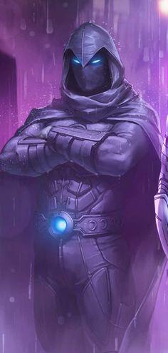 Moonknight Marvel Art, Knight, Knight Art, Marvel Artwork, Comic Book Characters, Marvel Moon Knight, Marvel Cinematic, Superhero Art, Comic Character