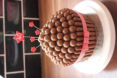 Nice simple idea using maltesers and chocolate fingers