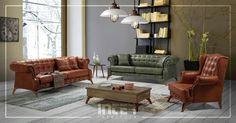 Evinde asillik arayanlar için Sline Koltuk Takımı ✨ Sofa Furniture, Luxury Furniture, Outdoor Furniture Sets, Furniture Design, Outdoor Decor, Recliner, Lounge, Couch, Modern