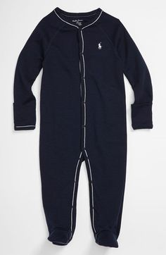 Baby Ralph Lauren Footie $25 at Nordstrom