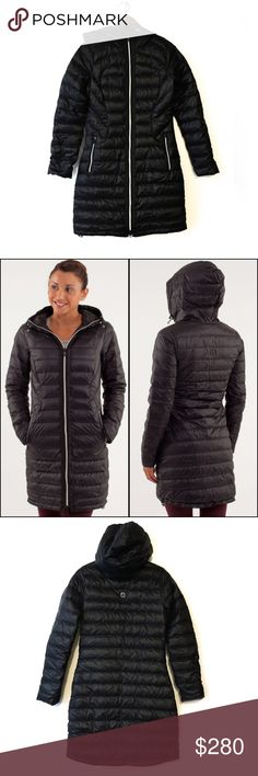 Lululemon Puffer Jacket Super Lightweight This is not your typical Puffer Jacket by Lululemon. This jacket is 100% Nylon and its content is 80% down 20% feathers which make it super lightweight and ideal for layering. If you live in extremely cold weather this jacket will NOT work for you. It is ideal for those chilly nights. The jacket is discontinued from Lululemon. EXCELLENT Condition. Worn once. NO Trades Use the Bundle Discount: 10%OFF all bundles! lululemon athletica Jackets & Coats…