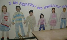 bible bulletin boards   Bible Bulletin Board Ideas / I am fearfully and wonderfully made