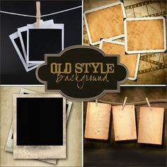 Friendly Scrap: New Freebies Old Style Backgrounds