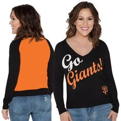 24b50dbc6 San Francisco Giants Touch by Alyssa Milano Women s MVP Pullover Sweatshirt  - Black