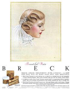 Vintage Ad:  Breck - 19540100 LHJ