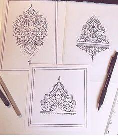 Tattoos on back Lotusblume Tattoo, Cuff Tattoo, Anklet Tattoos, Tattoo Bracelet, Cover Tattoo, Henna Hand Designs, Henna Tattoo Designs, Finger Tattoo Designs, Tattoo Ideas