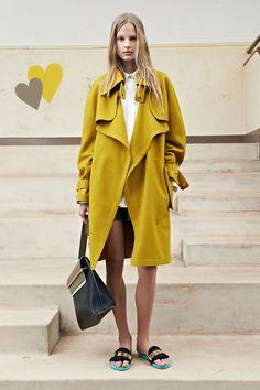 Chloe Resort 2014 -- In Love with this coat. #fashion #Chloe #Resort