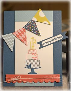 NEW! Make a Cake, In-Colors, Itty Bitty Banners, Banner framelit, Patio Party DSP.