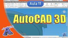 Curso de AutoCAD 3D - Aula 11 - Modelagem de Peças - Autocriativo