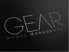 Gear Model Management, logo by Media Novak _