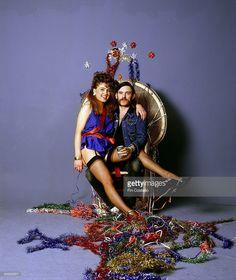 Photo of MOTORHEAD and LEMMY; Lemmy at Christmas