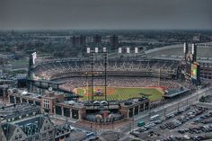 Comerica Park  April 5th against the Red Sox