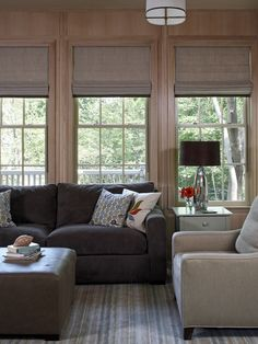 San Francisco Bay Area - Graphic Roman Shades Design, Pictures, Remodel, Decor and Ideas - page 3