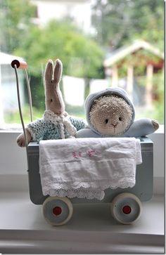 Bunny Cart (blue)