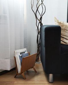 Ayous Magazine Rack - Saito Wood Co. - Nalata Nalata