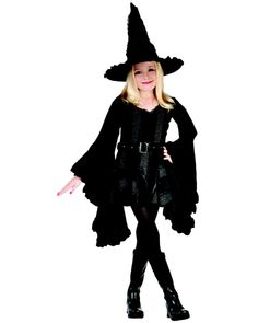 Kids Wicked Witch of the West Halloween Costume Stitch Witch Child - This is perfect gift for your child for Halloween Wicked Witch Costume, Kids Witch Costume, Childrens Halloween Costumes, Girl Costumes, Costume Halloween, Costumes Kids, Animal Costumes, Halloween Witches, Maleficent Costume