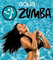 Aqua Zumba...it's actually really fun and alot harder than it looks!