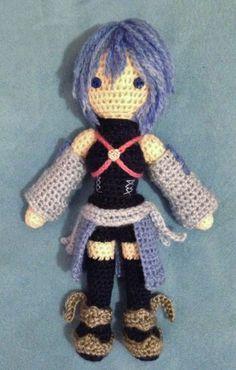 Kingdom Hearts: Birth by Sleep amigurumi - Aqua