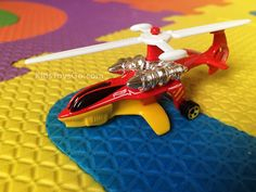 Hot wheel helicopter