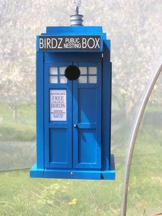 Doctor Who TARDIS style London Blue Police Box by billzbirdz $94