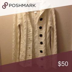 Ivory Billabong Cardigan Ivory Billabong 100% Acrylic M cardigan, like new... Billabong Sweaters Cardigans