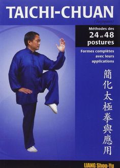 Taichi-Chuan: méthode des 24 & 48 postures - Budo Editions