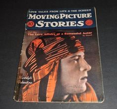 MOVING PICTURE STORIES 8/3/1926 RUDOLPH VALENTINO JOHN BARRYMORE VERA REYNOLDS