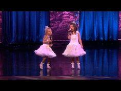 Sophia Grace & Rosie Perform 'Starships'