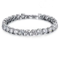 1 1/2 cttw CZ Diamond Tennis Carat Womens Bracelet