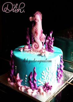 Sea Horse-wedding-cake Topper-bride-groom-seahorse Lover-kissing ...