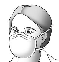 Respiratory Infection Control: Respirators Versus Surgical Masks osha.gov/Publications/respirators-vs-surgicalmasks  Respirators offer the best protection for workers who must work closely (either in contact with or within 6ft,) with people who have influenza-like symptoms. Includes workers who work in occupations classified as very high exposure risk or high exposure risk to pandemic influenza. OSHA Publication No. 3327, entitled Guidance on Preparing Workplaces for an Influenza Pandemic.