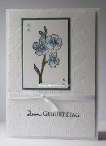 blog.karten-kunst.de - Schlichte Karte zum Geburtstag