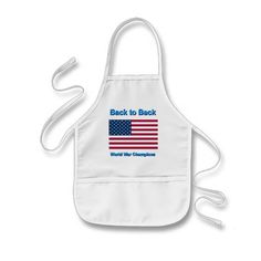 Undisputed back to back World War Champions Apron