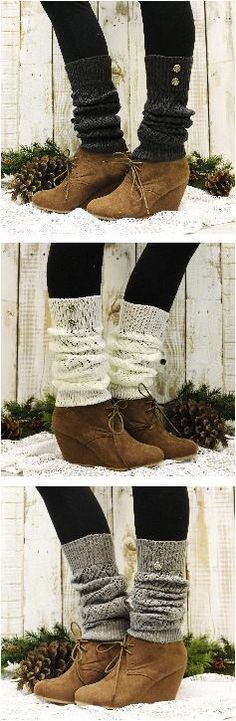 Leg warmer LOVE! Cuddly knit leg warmers that love your legs for this Winter.. Find tried and tested beginner friendly free knitting and crochet patterns at http://www.sewinlove.com.au/2015/06/27/tested-easy-free-baby-knitting-crochet-patterns/