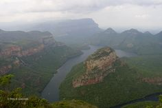 Il maestoso e meraviglioso Blyde River Canyon nella zona della Panorama Route