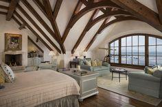 An Oceanside Pebble Beach, California, Estate Is on the Market | Bedroom