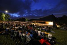 Spend a classic night with the Cleveland Orchestra under the stars at Blossom Music Center, with music from Beethoven to the Beatles. (Roger Mastroianni)