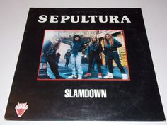 Very Very Rare!! - SEPULTURA - Slamdown - Live in Rock Borgen - LP Vinyl Record Album - Metal - Thrash - 1991