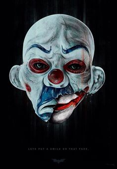 presenting a new illustration of the iconic robbery mask from the dark knight. with a twist the MANIC behind the MASK! the MANIC MASK Art Du Joker, Der Joker, Heath Ledger Joker, Kings & Queens, Arte Dope, Joker Mask, Dc Comics, Joker Images, The Dark Knight Trilogy