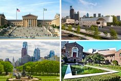 #22. The Barnes Foundation, The Philadelphia Museum of Art, The Rodin Museum, The Pennsylvania Academy of  the Fine Arts and The Penn Museum.
