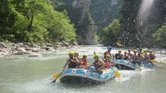 Rafting in Arachthos