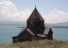 Sevanavank and Lake Sevan, Armenia