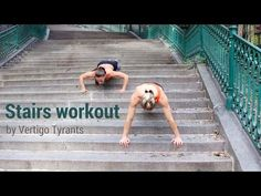 Vertigo workouts Home edition - #5 Stairs workout - YouTube