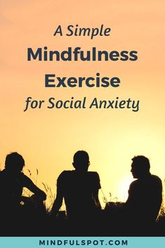 Do you worry about what other people think of you? Learn how this simple mindfulness exercise can help you overcome social anxiety and be grounded in the present moment. Click through to read the post. Mindfulness for beginners - Mindfulness At Work, Mindfulness For Beginners, Mindfulness Books, Benefits Of Mindfulness, Mindfulness Techniques, Mindfulness Exercises, Meditation For Beginners, Mindfulness Activities, Meditation Benefits