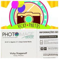 Vicky.Photos vai estar presente na PhotoImage Brasil !!!  @vicky_photos_infantis https://www.facebook.com/vickyphotosinfantis