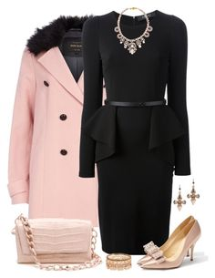 Little Black Dress by daiscat on Polyvore featuring polyvore, moda, style, Gucci, River Island, Kate Spade, Nancy Gonzalez, Shourouk, Mawi, fashion and clothing