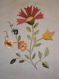 Resultado de imagem para bordado castelo branco pontos Flower Embroidery Designs, Embroidery Art, Embroidery Patterns, Wool Applique, Bargello, Needlework, Projects To Try, Cross Stitch, Clip Art