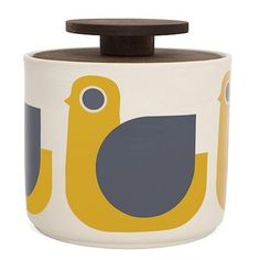 Orla Kiely Animal jars now in stock at Illustrated Living