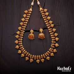 Beautifully Crafted studded with stones and plated with polish Jewelry Design Earrings, Gold Jewellery Design, Necklace Designs, Beaded Jewelry, Gold Jewelry, Bridal Jewelry, Ankle Jewelry, Designer Jewellery, Gold Necklaces